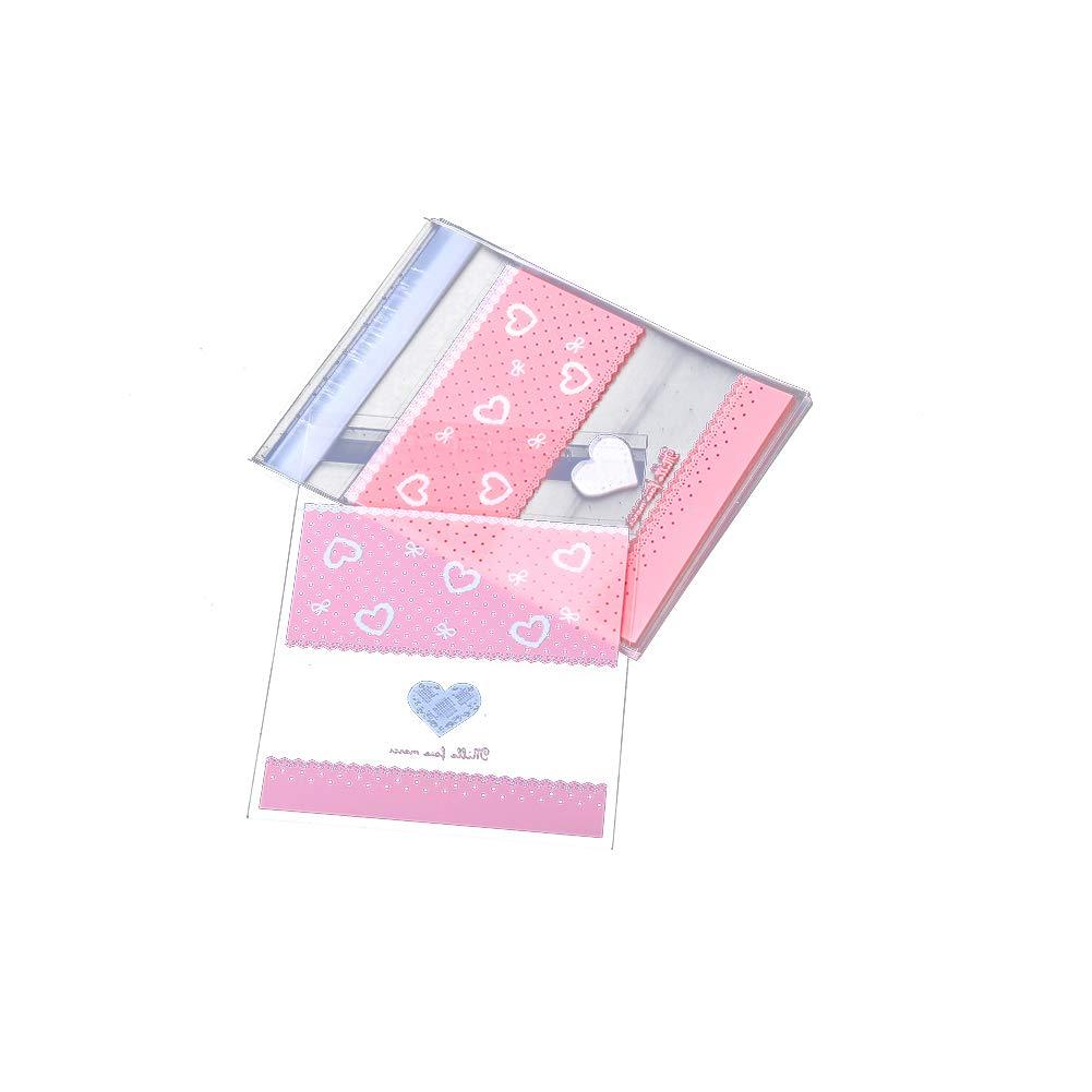 Ruiting Bolsa de Galleta Cookies Dulces de Pl/ástico Candy Bag Alimentos invitaci/ón Bolsa de Regalo para Fiestas de Boda Cumplea/ños