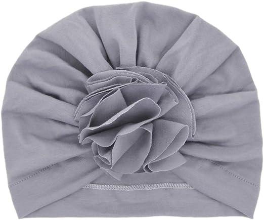 Set di 5 cappelli alla moda con fiocco per bambina con nodo turbante Lumsinker