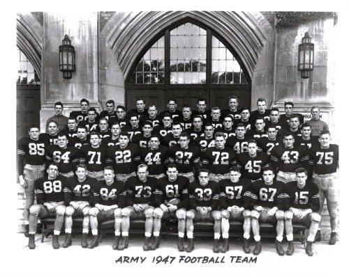 1947 Vintage Army Football 8x10 Team Photo - Doc Blanchard - Mint Condition