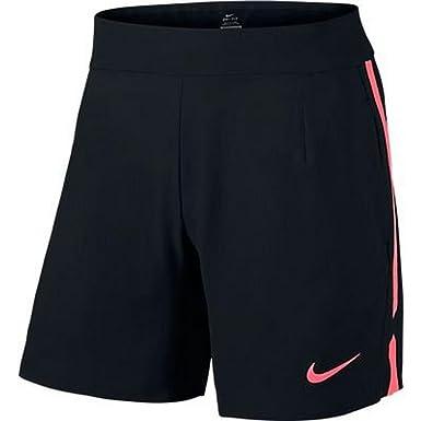 fa962f9c7ae Nike pantalón Rafael Nadal Gladiator Premier 17.78 cm Foely Negro Negro  Talla Extra-Large  Amazon.es  Ropa y accesorios