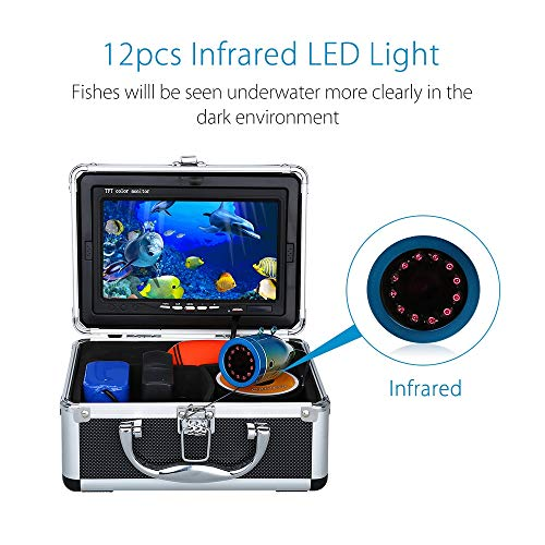 GUO Fish Finder Underwater Fishing Camera 7
