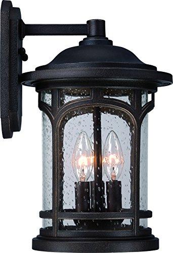 Luxury Rustic Outdoor Wall Light, Medium Size: 14.5