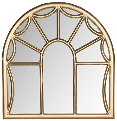 Safavieh Home Collection Palladian Mirror, Gold ()