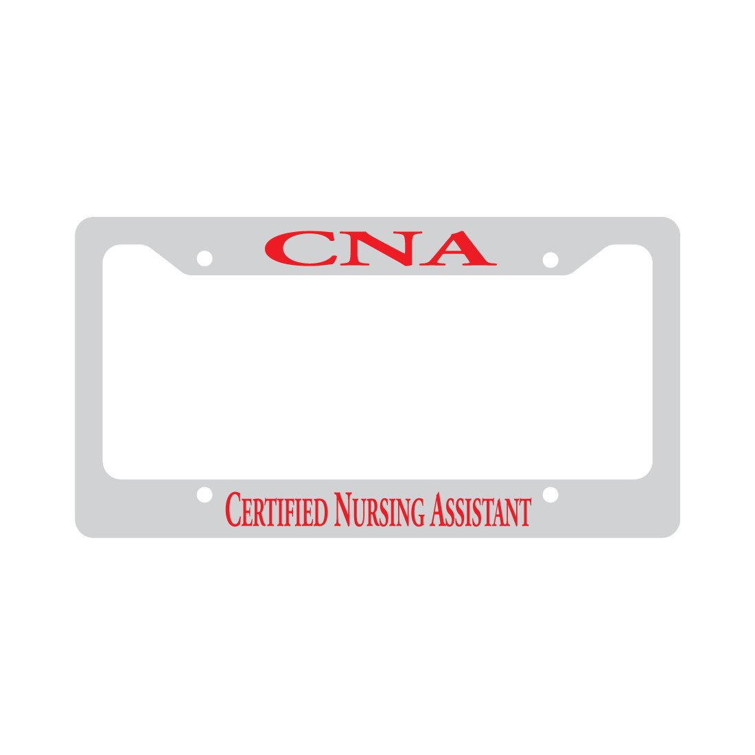 Amazon Cna Certified Nursing Assistant Funny Car License Plate