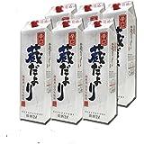 蔵だより 辛口 2Lパック×6本/日本酒