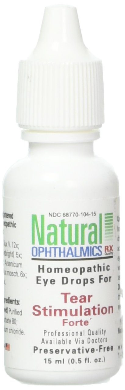 Natural Ophthalmics Tear Stimulation Forte Eye Drops, 0.5 Ounce