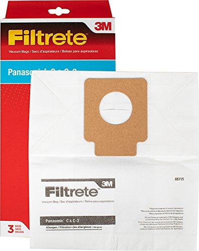 Amazon.com - 3M Filtrete Panasonic C, C-3 Allergen Vacuum ...