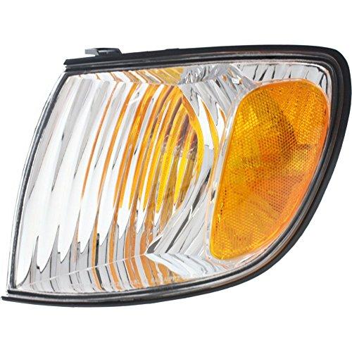 Evan-Fischer EVA20572013720 Corner Light for Toyota Sienna 01-03 Corner Lamp LH Assembly Left Side (Corner Sienna Light Toyota)