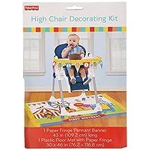 Amscan Fisher Price Circus High Chair Decorating Kit