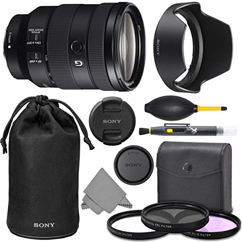 - Sony FE 24-105mm f/4 G OSS Lens (SEL24105G) with AOM Pro Kit Combo Bundle - International Version