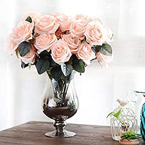 XGM GOU 10 Head French Real Touch Silk Roses Flower Bouquet Artificial Flower Bouquet Wedding Car Decorationhome Decoration Flowers P30 8