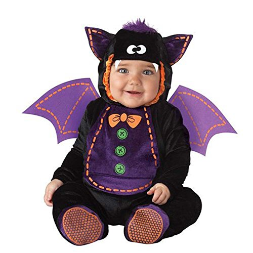 Dantiya Baby Bat Romper Halloween Costume (19-24 Months) ()