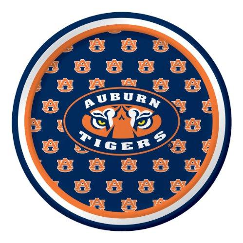 (Auburn Tigers Dessert Paper Plates,)