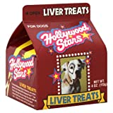 Hollywood Stars Dog Treats Liver 4.0 OZ(Pack of 6)