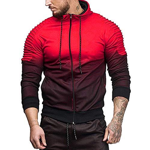 Survêtement Hiver Rouge Ensembles Pantalon 2 Sport Camouflage Haut Automne Costume Hommes OOBFWq1Pn