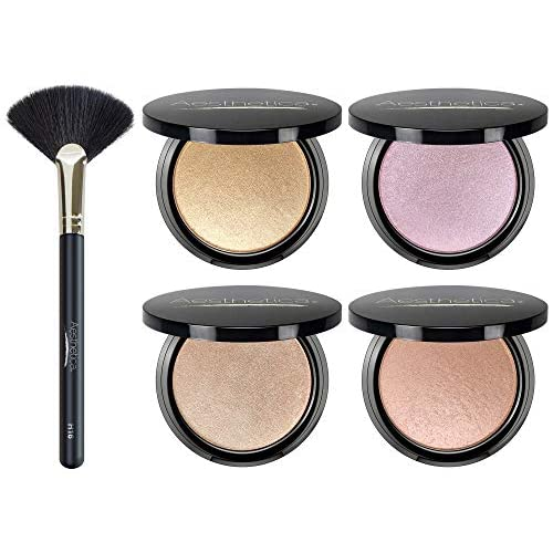 Metallic Shimmer Makeup Powder Highlighter