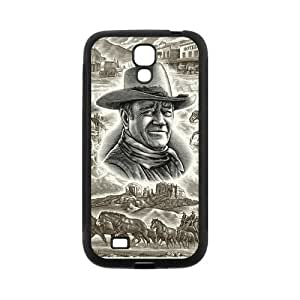 Personalized Fantastic Skin Durable Rubber Material Samsung Galaxy s4 I9500 Case - John Wayne
