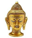Shaishom Brass Buddha Head For Idol Statue
