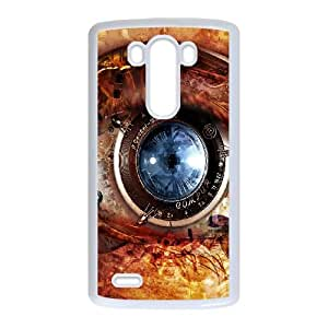 LG G3 Cell Phone Case White_Mechanical Eye Steampunk Yffxe