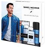 DANIEL HECHTER Coffret Homme Jeans Brut Collection Couture, Eau de Toilette 100 ml + Déodorant 150 ml