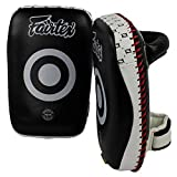 FAIRTEX MUAY THAI KICKBOXING SMALL CURVED KICK THAI PADS - KPLC1