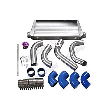 Aluminio Intercooler + tuberías BOV Kit para 1jzgte Vvti Swap 240sx S13 S14 único Turbo: Amazon.es: Coche y moto