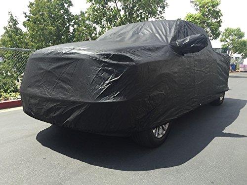 Xtrashield Custom Fit 2007-2019 Toyota Tundra CrewMax Cab 5.6ft Short Bed Box Truck Car Cover Black CarsCover 709870730597