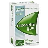 Nicorette Nicotine Gum 4mg Classic Original 4 Boxes 420 Pieces