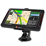 Car GPS Navigation 7 Inch Vehicle GPS Navigation Car System 8G Memory Portable Truck Navigator Touch Screen Multimedia Pre-Installed North America Lifetime Maps Free Update …
