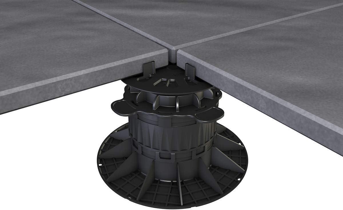 Plattenlager 40-70 mm Stelzlager Stützenfuß Auflagefuß Keramik Fliesen 10 Stk