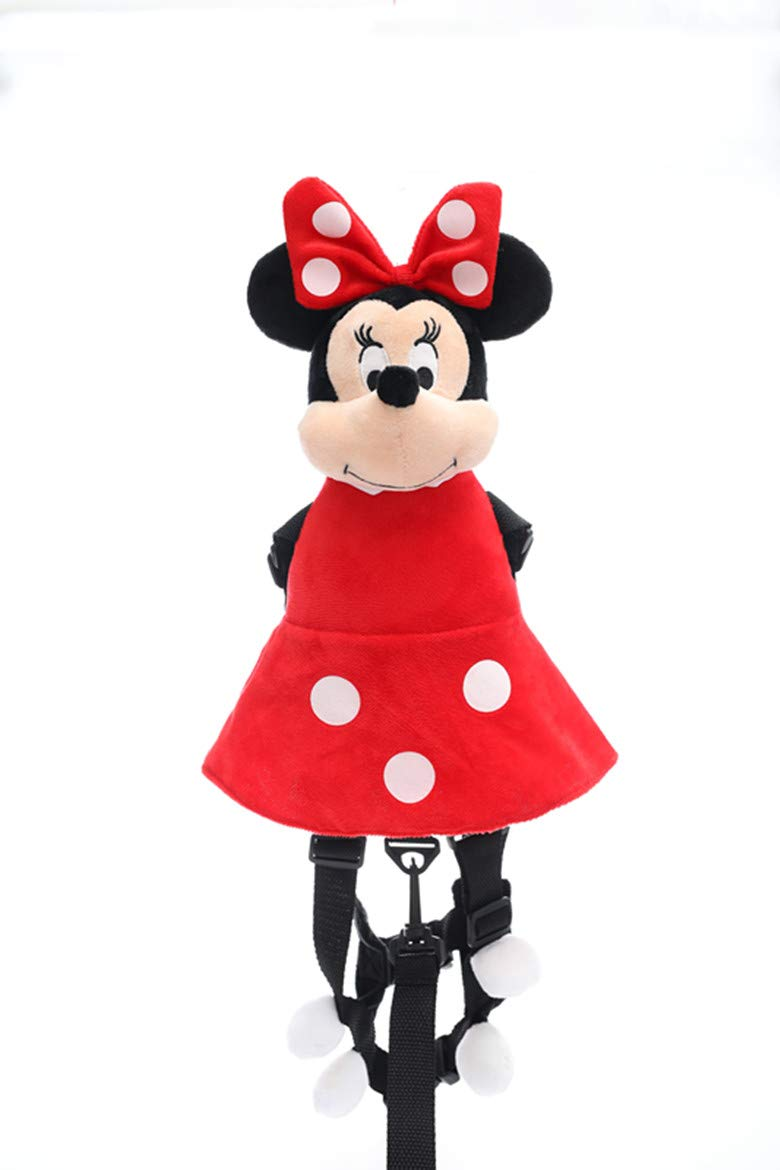 Toddler Leash for Kids Plush Mickey Minnie 2 in 1 Child Safety Harness