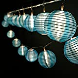 HQOON Strip String Light, Fairy LED Rope Lights, Cool Nylon Lanterns Mini Globe Lighting, Decoration for Christmas/Patio/Indoor/Outdoor/Garden party, Bedroom Decor, Battery Powere