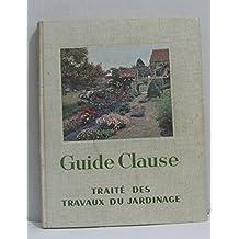 Guide clause - traite des travaux du jardinage -