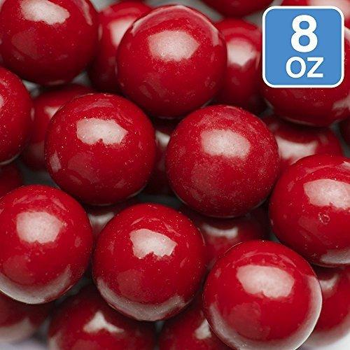 Sweetworks Celebration Candy Gumballs Bag, 8 oz, Red -