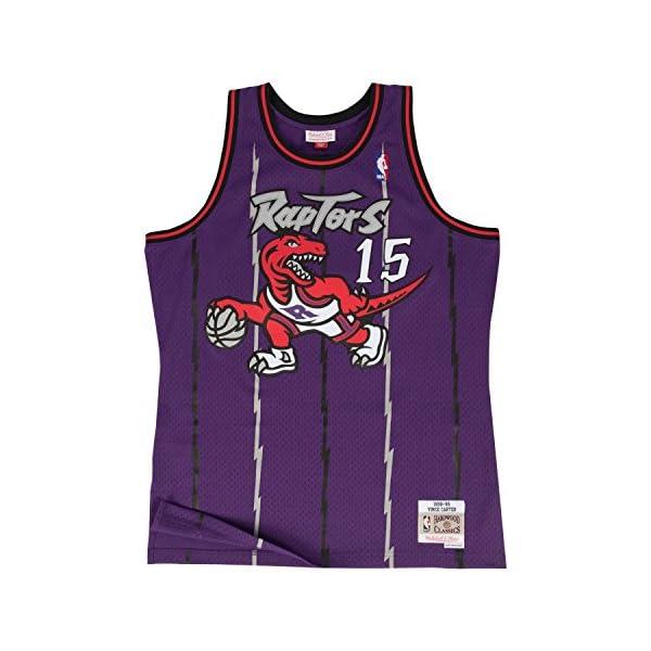 421c7c61e36 Mitchell   Ness Vince Carter Toronto Raptors Purple Throwback ...