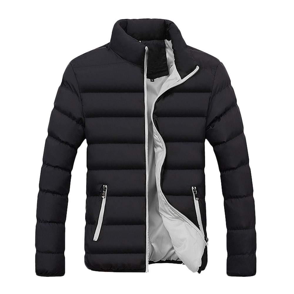 Sunnywill Men Zipped Jacket Hoodie, Men's Winter Warm Hooded Zipped Thick Solid Fleece Coat Cotton-Padded Jacket Sweatshirt Men' s Winter Warm Hooded Zipped Thick Solid Fleece Coat Cotton-Padded Jacket Sweatshirt