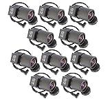 Evertech 10 Pcs 2.8-12mm Varifocal Auto Iris Lens for Professional CCD Cameras