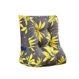 MS Pillow Washable Bedside Triangle Backrest Sofa Cushion Soft Cushions On The Bed Office Lumbar Pillow Neck Guard Protection Waist Fashion Modern Printing Multiple