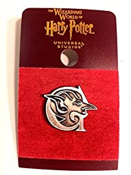 Wizarding World of Harry Potter : Goblin Bank of Gringotts Metal Logo Trading Pin