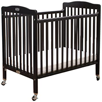 LA Baby The Little Wood Crib, Cherry