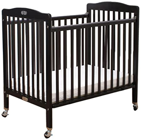 LA Baby The Little Wood Crib, Natural 883A-N