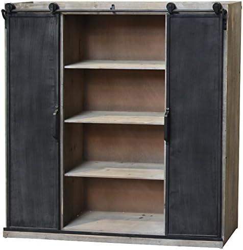 chemin_de_campagne Mueble Industrial estantería Bahut Puerta en ...