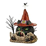 2 X Department 56 Snow Village Halloween Black Cat Shack 4044877