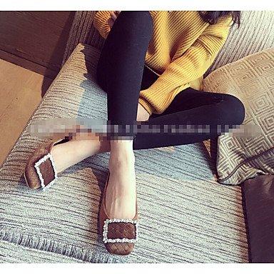 Cómodo y elegante soporte de zapatos de tacón para mujer otros piel sintética al aire libre negro verde gris burdeos marrón