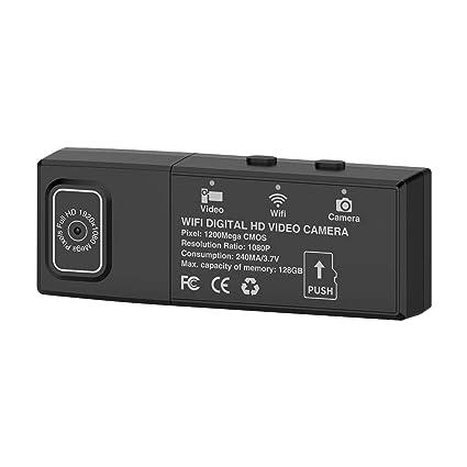 Rosepoem Cámara De Vigilancia Inalámbrica De WiFi HD, Sensor De Movimiento Dual De La Cámara