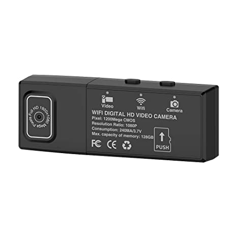 WiFi Mini Cámara WiFi Mini DV WiFi Micro Cámara Flexible 4K / 2K / 1080P /