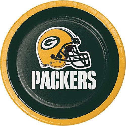Green Bay Packers Dessert Plates, 24 ct