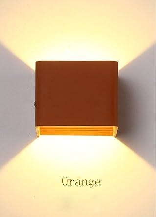 LED Wandleuchte Modern Eckig Design Wandlampe Wohnzimmer Esszimmer  Schlafzimmer Arbeitszimmer Landhaus Küche Flur Kinderzimmer Leuchte Wand