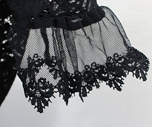SIS Damen Bluse mit Carmen-ausschnitt SIS-MC7155 (M)