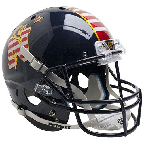 Navy Midshipmen Dont Tread On Me Officially Licensed Full Size XP Replica Football Helmet